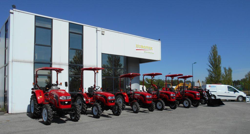 Tracteurs Foton - Eurotek