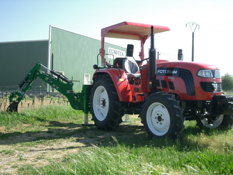 tracteur foton-pelle retro-eurotek
