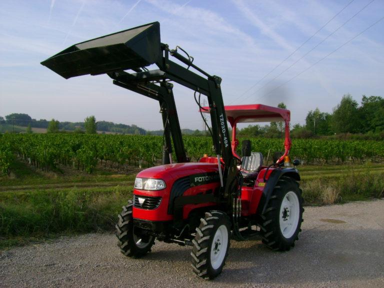 tracteur foton-chargeur-eurotek